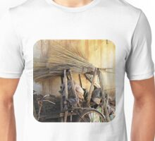 Brooms & Bicycle  Unisex T-Shirt