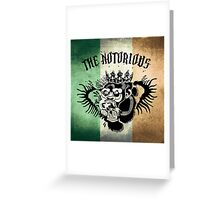 Notorious TriColour Gorilla  Greeting Card