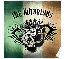 Notorious TriColour Gorilla  Poster