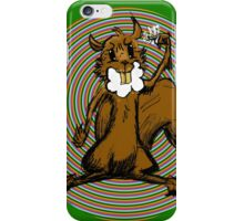 Rabid Squirrel Gone Nutty iPhone Case/Skin