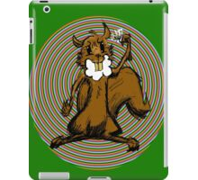 Rabid Squirrel Gone Nutty iPad Case/Skin