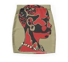 Natural Essence-Taupe Mini Skirt