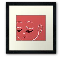 Sentimental Senpai Framed Print