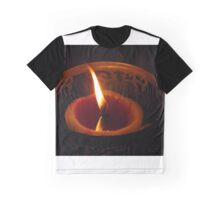 candle flame #1 Graphic T-Shirt