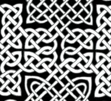 Celtic Interweave Sticker