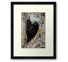 ♥The Heart Of Nature ♥ Framed Print