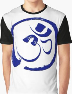 Om - Aum with Enso Zen circle Graphic T-Shirt