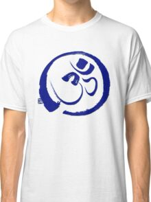 Om - Aum with Enso Zen circle Classic T-Shirt