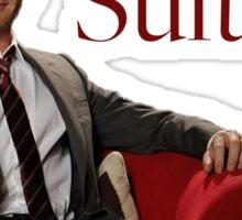 Barney Stinson- Suit Up Sticker