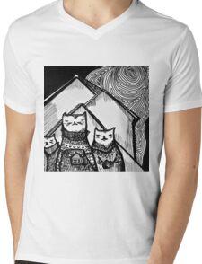 Sweater Weather Mens V-Neck T-Shirt