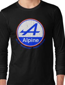 Alpine French Color Graphic Long Sleeve T-Shirt