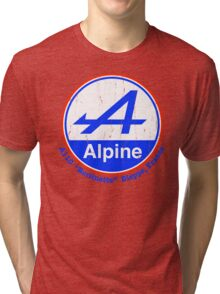 Alpine French Color Graphic Tri-blend T-Shirt