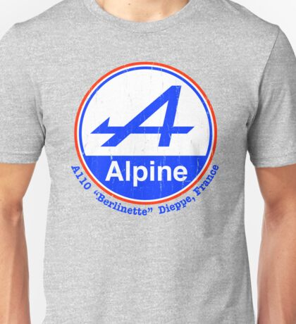 Alpine French Color Graphic Unisex T-Shirt