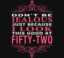 Don't Be Jealous - 52 Women's Fitted V-Neck T-Shirt