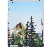 Red Mountain Landscape iPad Case/Skin