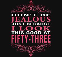 Don't Be Jealous - 53 Women's Fitted V-Neck T-Shirt