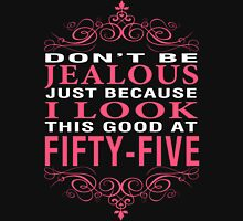 Don't Be Jealous - 55 Women's Fitted V-Neck T-Shirt