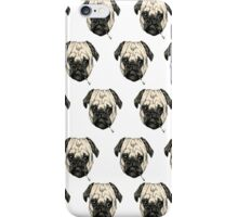 Pugs smoking iPhone Case/Skin