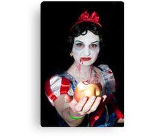 0768 An apple for a good little boy Canvas Print