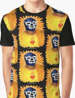 Lucha Jesus (dark colors) Graphic T-Shirt