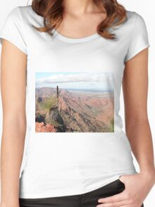 Gammon Ranges, Outback, South Australia Women's Fitted Scoop T-Shirt