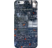 Wall of love iPhone Case/Skin