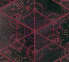 Cube - Root Chakra Sticker