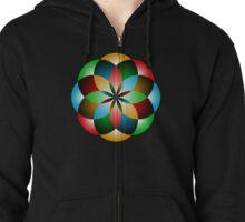 Orbifold Tarot Insignia Zipped Hoodie