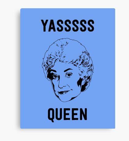 Queen Bea Canvas Print
