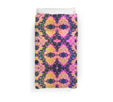 Pink Yellow Bubble Pattern Abstract  Duvet Cover