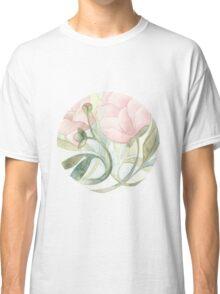 Pink Peony Classic T-Shirt