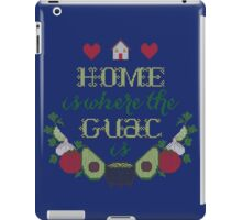Home is where the Guac is iPad Case/Skin