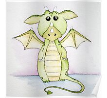 Whimsical Dragon Poster