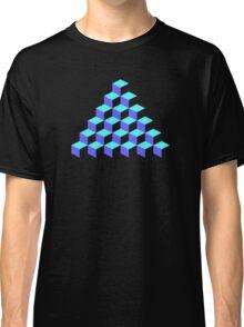 Q*Bert Pyramid Classic T-Shirt