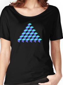 Q*Bert Pyramid Women's Relaxed Fit T-Shirt