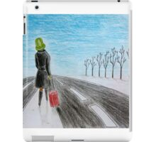 Lonely voyage iPad Case/Skin