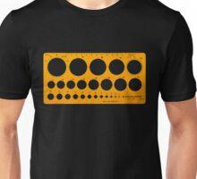 Standardgraph 1316 Stencil Circle Unisex T-Shirt
