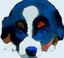 Puppy Dog by Karen Harding