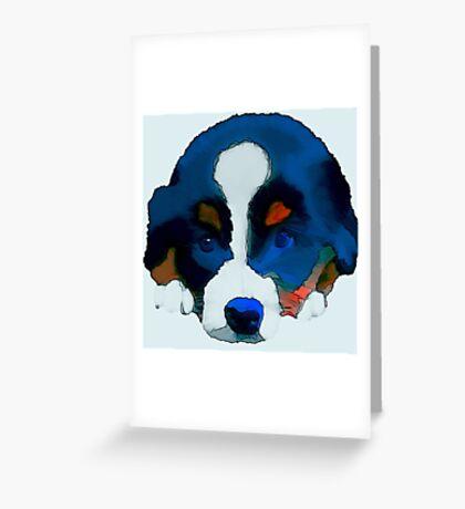 Puppy Dog Greeting Card