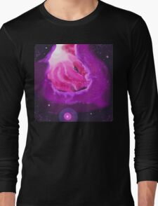 Space Tunnel Clouds Long Sleeve T-Shirt