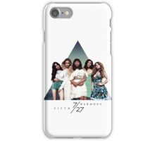 FIFTH HARMONY ~ 7/27 (Triangle) iPhone Case/Skin