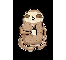 Coffee Sloth Photographic Print