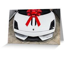 Vorsteiner Lamborghini Gallardo Performante Greeting Card
