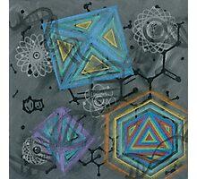 LSD Molecule Photographic Print