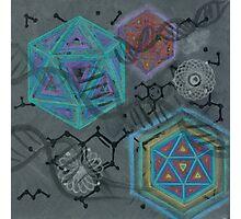 Mescaline - Molecule Photographic Print