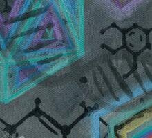 Mescaline - Molecule Sticker