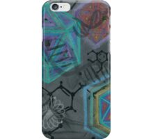 Mescaline - Molecule iPhone Case/Skin