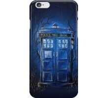 It's bigger on the inside iPhone Case/Skin