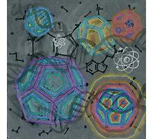 DMT - Molecule Photographic Print