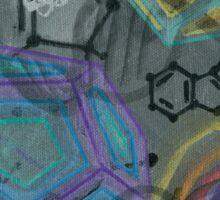 DMT - Molecule Sticker